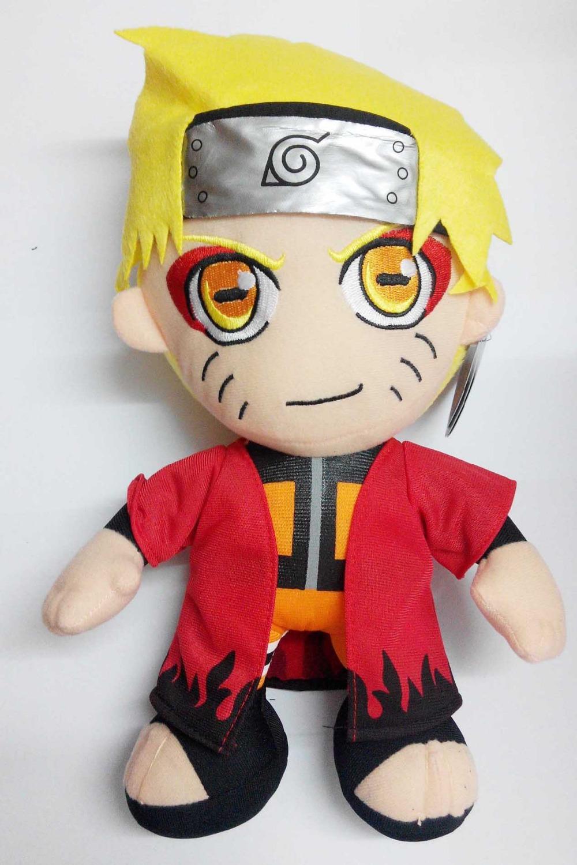 12 '' Naruto Anime Naruto Uzumaki Plush Toys Doll(China (Mainland))