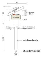-10-50C Pt00 Thermal Resistance transmitter Class A RTD Sensor 4-20mA Output