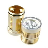 10PCS,Sky-Ray King Bright 6000 Lumen 7x CREE T6 LED Use 4x 18650 Battery Flashlight 7T6 Torch King