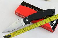 Free shipping New CNC SPYDERCO New G10 Handle Pocket Folding Knife VTFC95