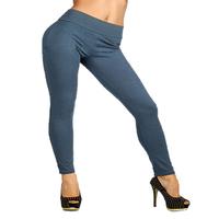 Women Winter Skinny  Zip Leggings Stretch Pant Slim Jeggings Pencil Trouser