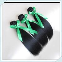 beauty brazilian virgin human hair weft 100g 3pcs/lot longqi hair extension free DHL shipping silky straight brazilian hair muse