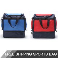 2015 Men's Profesional 46L football backpacks soccer bags outdoor sports bags soccer fans bag sport bag for men