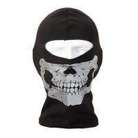 Ghost Biker Skull Hood Face Mask Motorcycle Ski CS Sport Helmet Snood hat balaclava