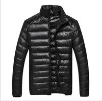 2015 Mens Winter Jacket men's White Duck Down Parka Homme Napapijri Parka Down Jacket Men Outerwear Male Slim Size M-XXXL CT02