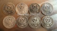 Poland <1842-1850> 8 coins 50 Grosz coins copy Free shipping