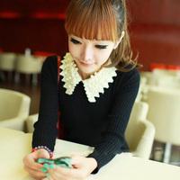 Hot sale Fashion 2015 Women New Long Sleeve Pullovers celebrity style winter Zipper knitwear Sweater Cheapest free shipping