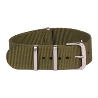 New Durable Sports Military Nylon Wrist Watch Strap Band Bands for Width 18mm
