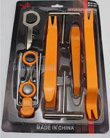 12pcs-Car-Panel-Trim-Audio-Radio-Stereo-Removal-Install Repair Pry Tools Kit Set Free shipping