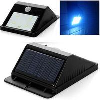 Outdoor Bright 4 LED Solar Powered Light PIR Motion Sensor Security Night Lamp Free shipping