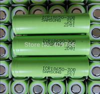 10pcs/lot New Original 18650 Samsung 3000mAh ICR18650-30B Li-ion 3.7v Rechargeable Battery Batteries