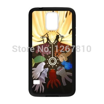naruto all bijuu bend the knees Custom case mobile phone bags Cover Case For Samsung Galaxy S3 9300 S4 9500 S5 Mini Note 2 3(China (Mainland))