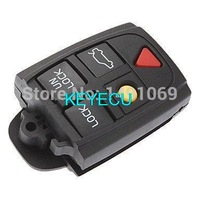 Replacement Flip Folding Key Shell Part for VOLVO S60 S80 V70 XC70 XC90 Remote Case