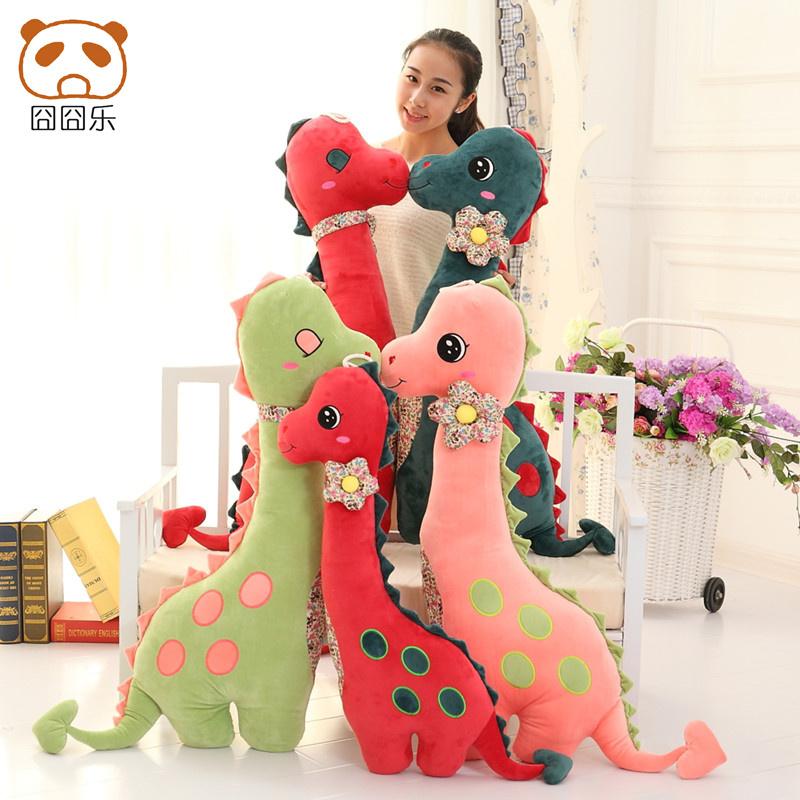 55cm Dinosaur Plush Toy Giant Stuffed Animal Dragon Doll Gift For Girlfriend & Children Good Quality(China (Mainland))