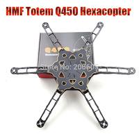 2015 New FPV Across frame HMF Totem Q450 Multirotor Hexacopter frame 450 lightweight high strength better than F450