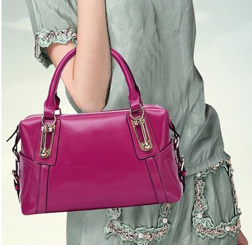 High Quality Women Genuine Leather Bag Ladies Handbag Fashion Totes Vintage Handbags Bolsas Brand Women Messenger Bags(China (Mainland))
