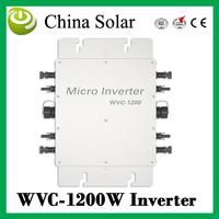 Micro PV Inverter On Grid Inverter Output 1200W Solar micro inverter solar panel inverter 1200W