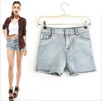 Women's Brand Trendy Bleach Shorts Plus Size XL Women Casual Street Wear Shorts Party Sexy&Club Shorts Spring Summer Tops