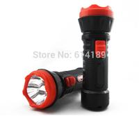 4xHigh Power LED Portable Rechargeable Flashlight Plastic Body