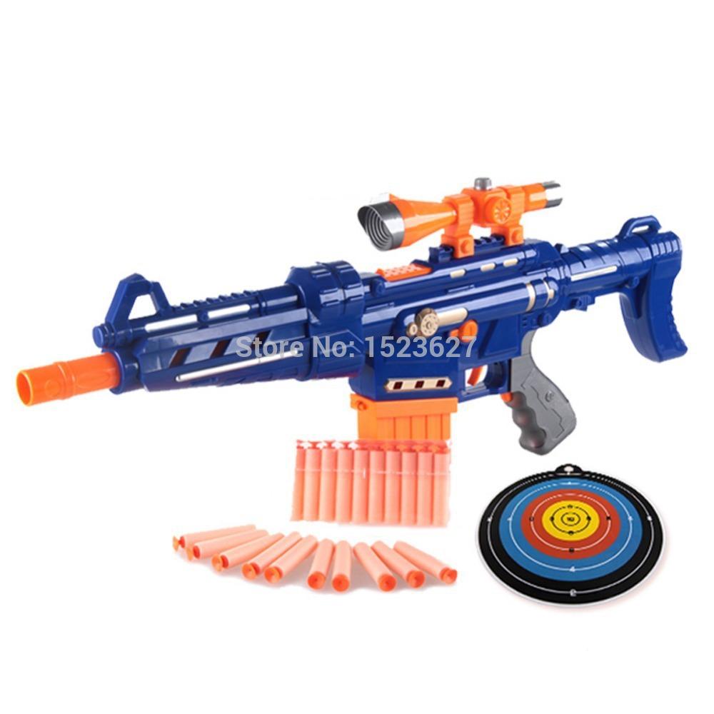 simple box holy Stones 99 Series Foam Bullet Blaster Hand Gun 100% Safe to Children Soft Bullet Gun Toys Best Gift for Kids(China (Mainland))