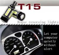 2 X 921 194 168 T15 W16W Super Bright Cree Emitter 15SMD 5050 LED 360 degrees car Backup Reserve Lights Bulb