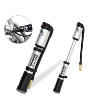 BETO Portable Cycling Bicycle Bike Shock Absorber Suspension Pump Tire Inflator Air Pump with Pressure Gauge 300 PSI MP-036