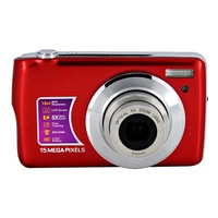 """Professional 15 MP 2.7"""" TFT LCD cheap digital camera with 5X optical zoom Free Shipping"""