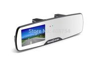 G300 Car DVR HD1280*720P Camera, 2.7inch CTPS TFT LCD mirror Recorder, Russian Car DVR Free shipping