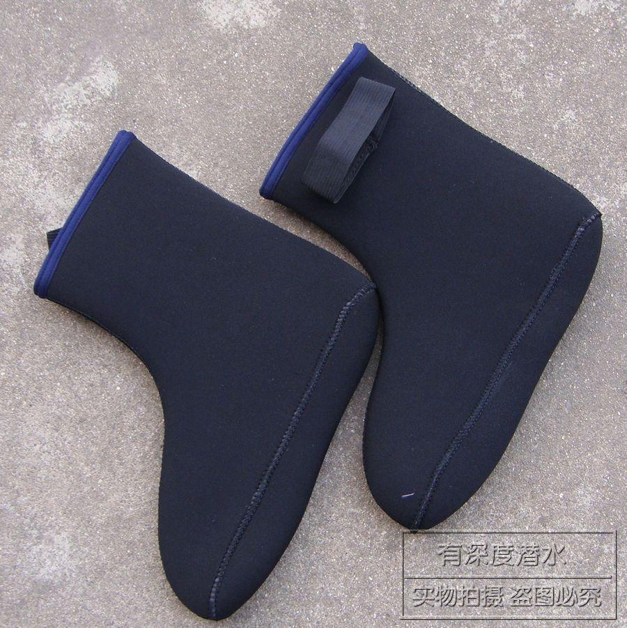 5MM thick black socks diving gloves diving / swimming socks / winter swimming socks / stockings wet diving(China (Mainland))
