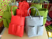 Eco-friendly felt bag women's bag felt shopping bag cross-body portable felt bags