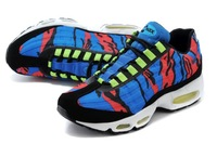 New Arrived 2014 Air 95 Men's Athletic shoes Outdoor Lawn Zoom Air running sport Discoloration sport shoes size 40-47