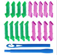18Pcs Wholesale Magic Circle DIY Hair Styling Roller Curler Tool  Hair Roller 12cm Length
