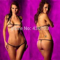 New Sexy Women's Sexy Exotic Leopard Bandage Bikini Swimsuit Set Padded Push-up Bra Bathing Swimwear
