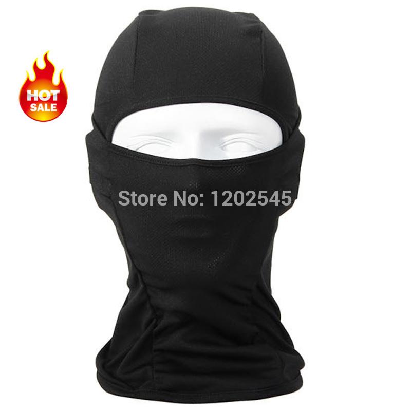 Black Balaclava Breathable Outdoor Sports Riding Ski Masks Hiking Tactical Head Cover Motorcycle Cycling Protect Full face Mask(China (Mainland))
