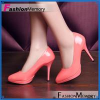 2015 Plus size 34-43 Women's Pumps Sexy Vintage Pointed toe High Heels Prom Wedding Shoes Platform Patent PU Women Pumps