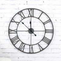 100% True Metal Wall Clock Big Wall Clock for Livingroom Wall Decor Modern Art Home Decoration