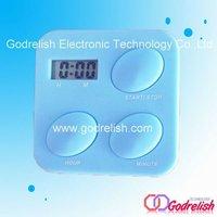 Kitchen timer,plastic timer,square timer clcok