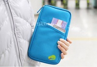 Best Passport Holder Organizer Wallet multifunctional Document package candy travel wallet portable purse business card holder