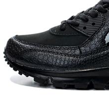 2015 nuevo hombre cocodrilo Negro para mujer de los zapatos corrientes 90 zapatillas deportivas de alta calidad zapatos de deporte entrenamiento 36-45 Envío Gratis(China (Mainland))