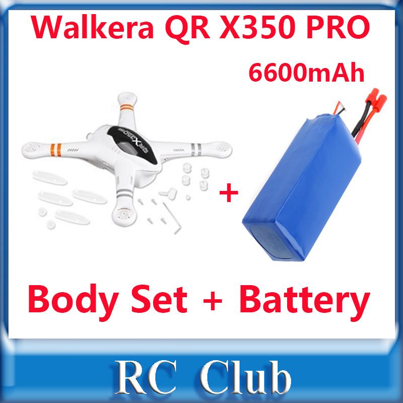 Запчасти и Аксессуары для радиоуправляемых игрушек Walkera QR X 350 QR X 350 pro/z/02 + 11.1V 6600mAh 20/25minutes  PRO-Z-02