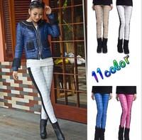 New down-like joint Women Pants Plus Size winter plus velvet Woman Leggings Tall waist show thin feet  boot Women's Trousers