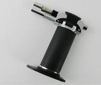 New Black  Cigar Lighter Adjustable Butane Torch Cigarette Tobacco Cigar Lighter Free shipping