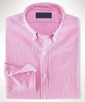 2015 new brand Stripe shirt 100% cotton fashion casual shirt  long-sleeved men dress shirt Free Shipping #70466