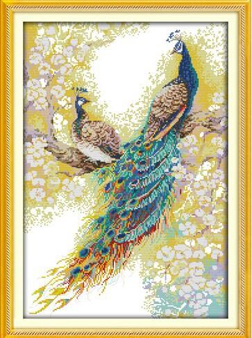 صور الطاوس فلاشية  The-font-b-peacock-b-font-couples-cross-stitch-kit-animal-lover-font-b-pattern-b