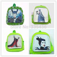 2015 new arrival,girl school Maleficent school bag.Maleficent girl  bag.Maleficent Printing Backpack for Children.Free shipping