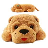 Niuniu Daddy Plush toy Shar Pei Dog Plush dog Animal toys 35(inch)