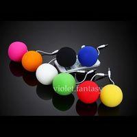 New Mini Cute 3.5mm Phone Ball Portable Loudspeakers Mini Audio Docks Cellphone Player By Randomly Color