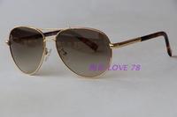 Metal vintage round sun glasses picc for adi lly2 sunglasses gradient anti-uv oculos de grau femininos