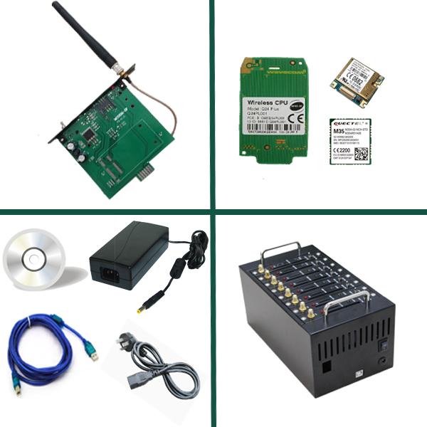 Multi sim port gsm tc35i modem for mobile recharge(China (Mainland))