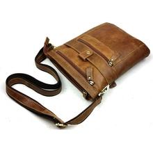 High Quality Multifunction Men Genuine Leather Bag Casual Bolsa Masculina Men's Crossbody Shoulder Bag Messenger Bags